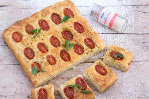 Recept Italská focaccia scherry rajčátky