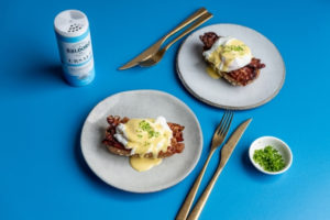 Eggs Benedict mit SALDORO Salt